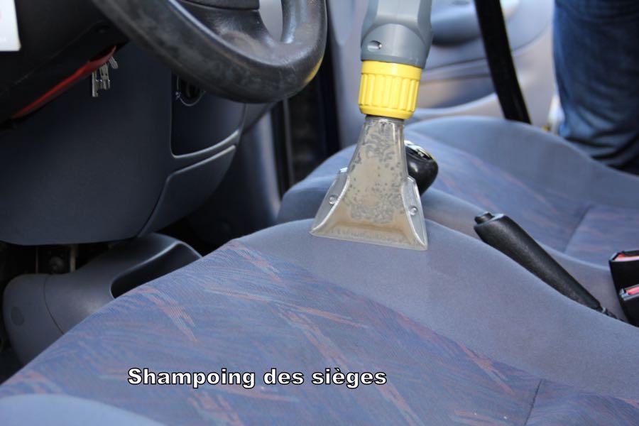 Nettoyage siege voiture vapeur - Nettoyer moquette voiture ...